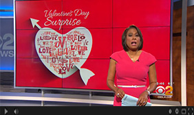 CBS2 NEWS: How To Create Homemade<br>Valentine's Day Treats For Less